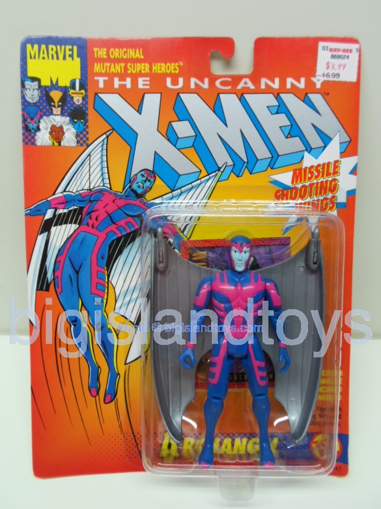 X-Men Uncanny Series 3  Archangel Silver Wings