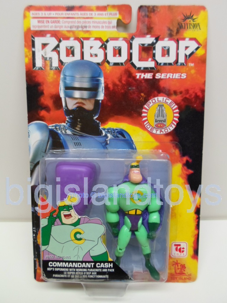 Robocop The Series   Commander Cash