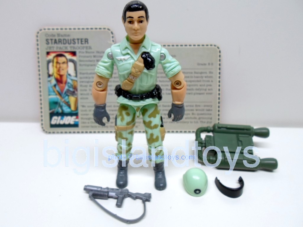 GI Joe 1987 Figures   StardusterMail-In Variations