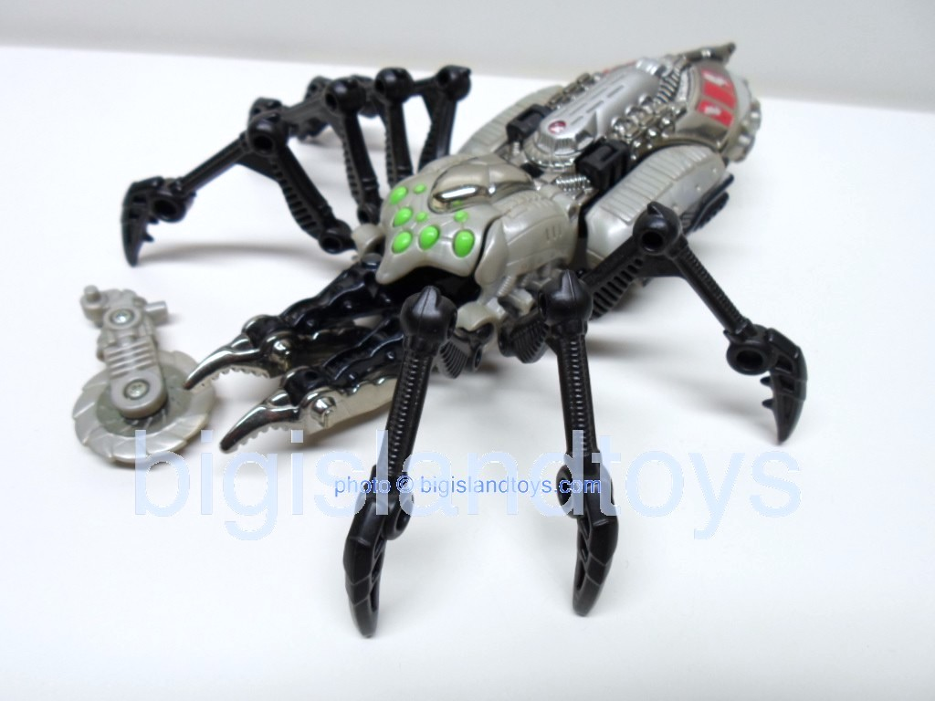 Transformers Beast Wars 1999  Tarantulas Fox Kids Transmetals Recolor