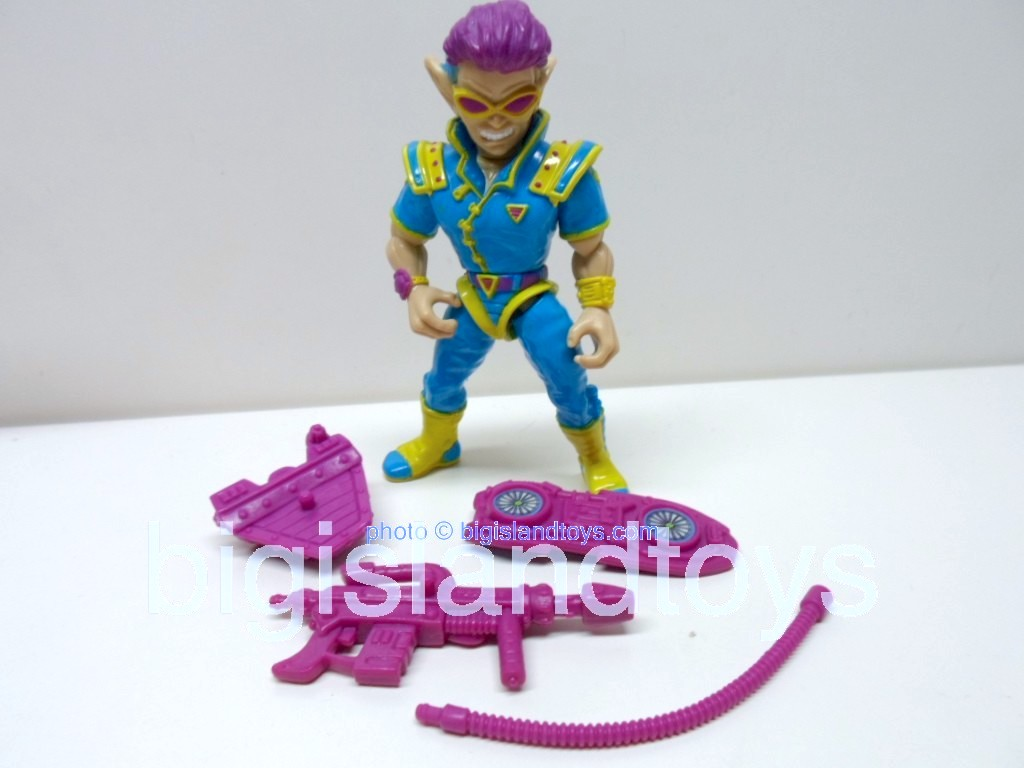 Teenage Mutant Ninja Turtles 1991 Figures   Zak The Neutrino