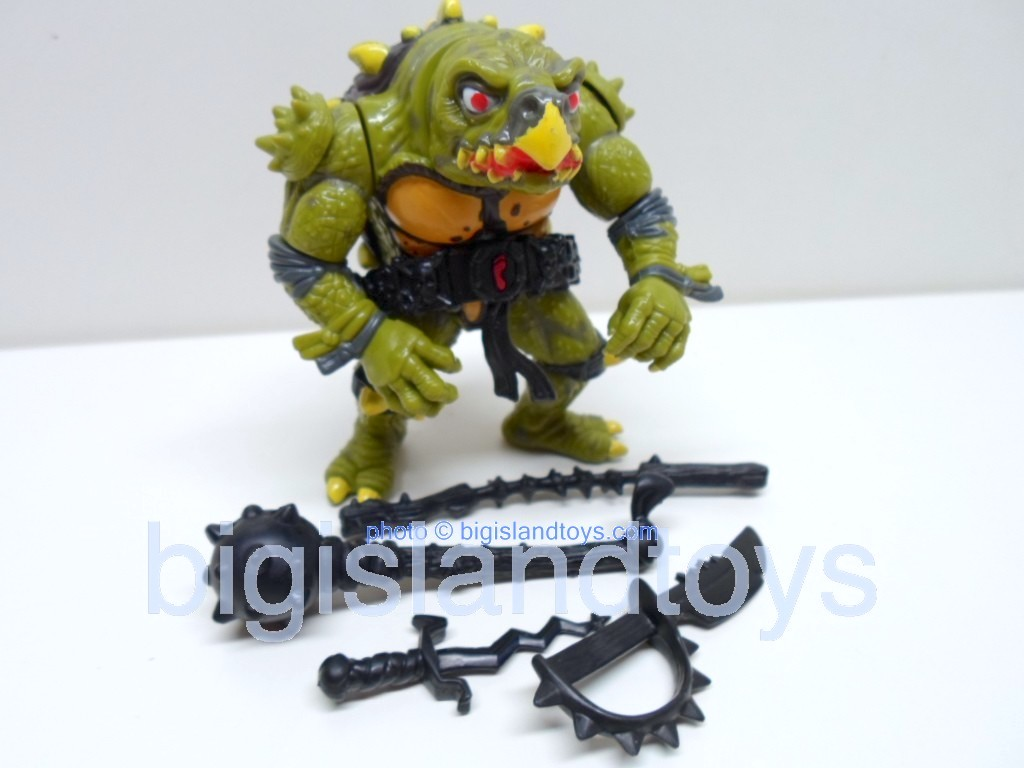 Teenage Mutant Ninja Turtles 1991 Figures   Movie Star Tokkablack highlights