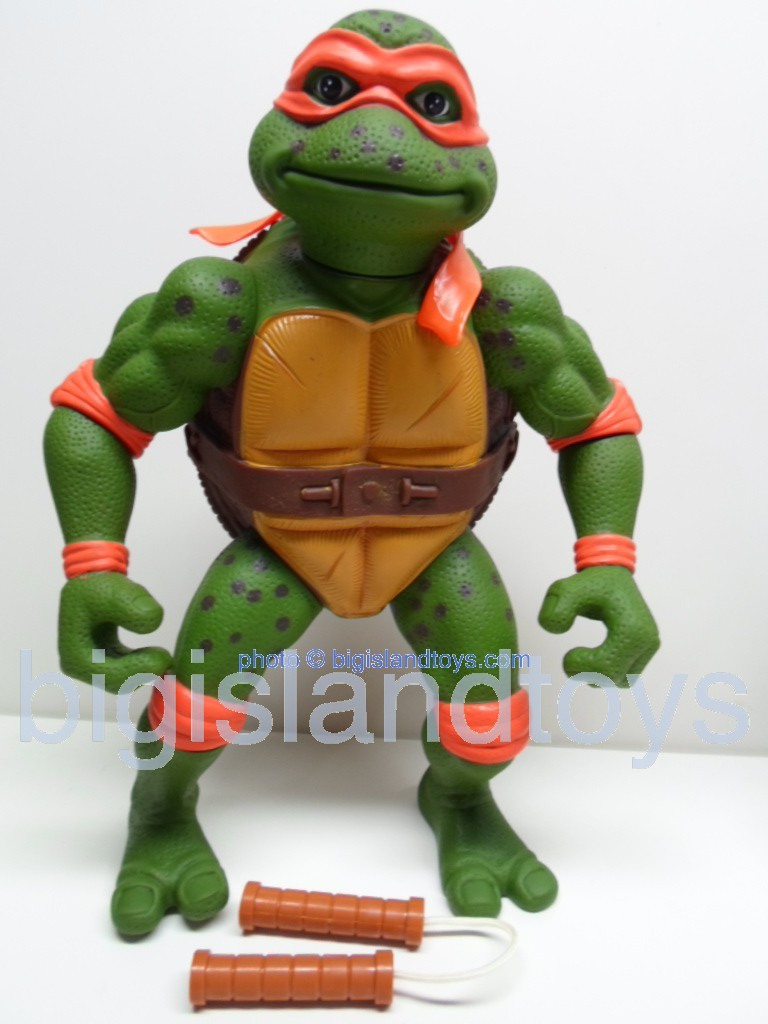 Teenage Mutant Ninja Turtles 1991 Figures   Giant Movie Star Mike