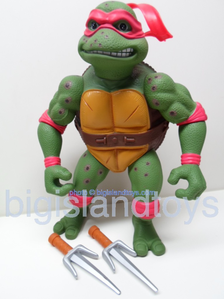 Teenage Mutant Ninja Turtles 1991 Figures   Giant Movie Star Raph