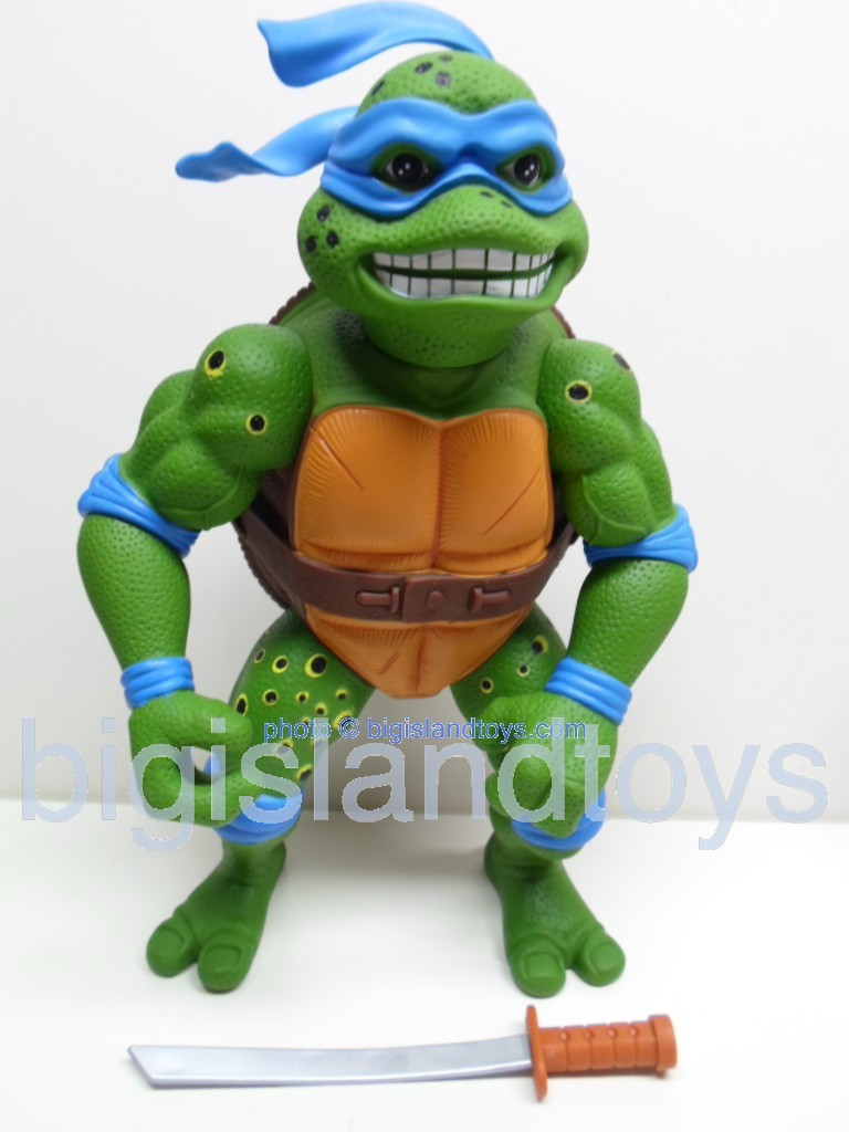 Teenage Mutant Ninja Turtles 1991 Figures   Giant Movie Star Leo