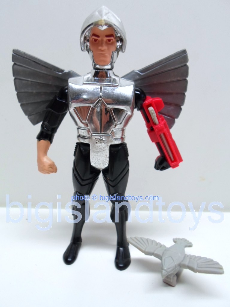 Silver Hawks    Quicksilver with Ultrasonic Suit