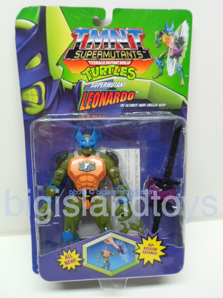 Teenage Mutant Ninja Turtles 1994 Figures        SUPERMUTANT LEO