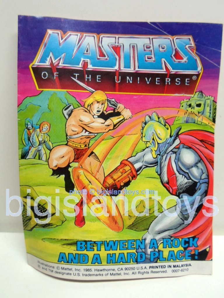 Masters of the Universe Mini Comics   Between a Rock and a Hard Place!