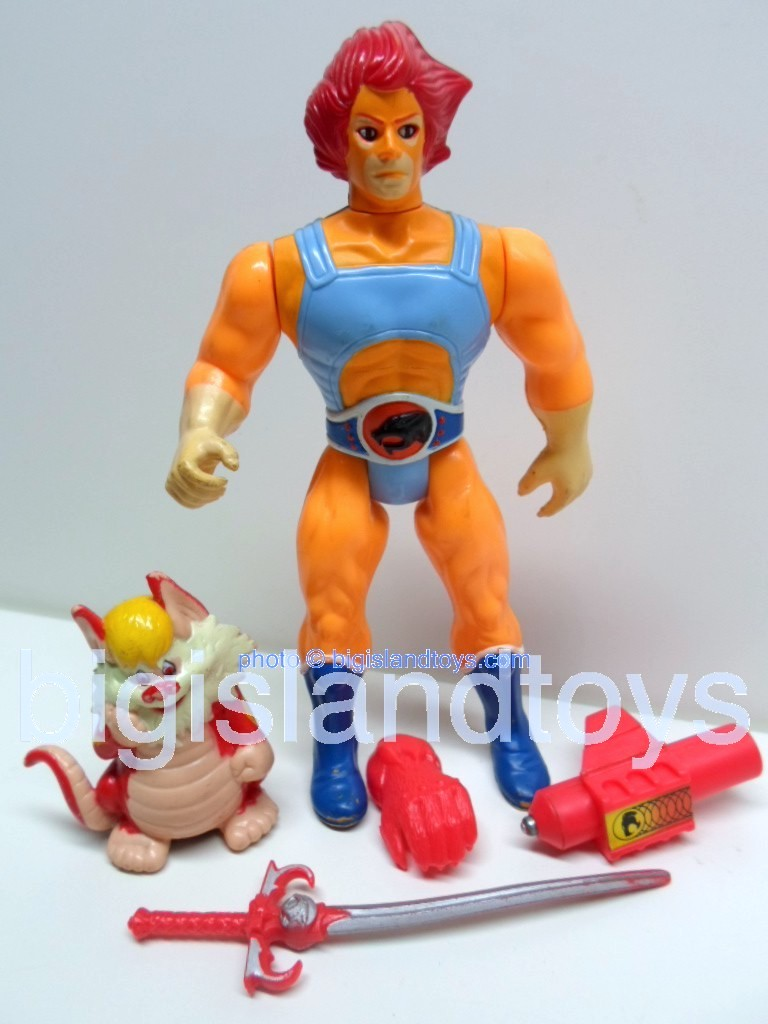 Thundercats Standard Figures   Lion-O with Snarf