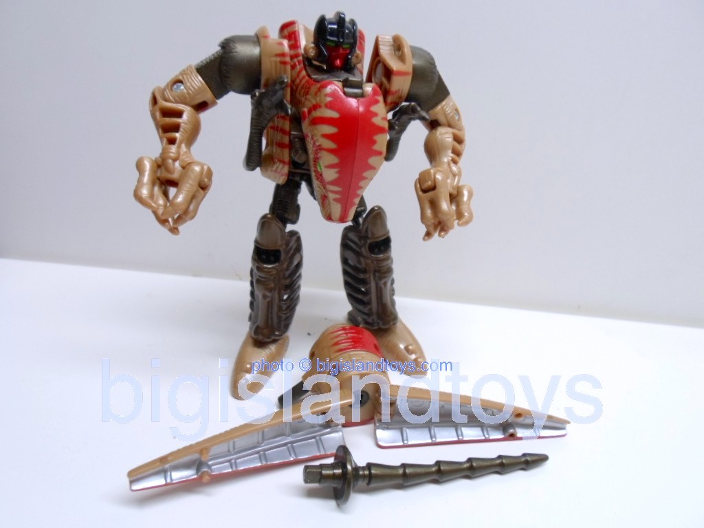 Transformers Beast Wars 1999  Dinobot Fox Kids Original Recolor