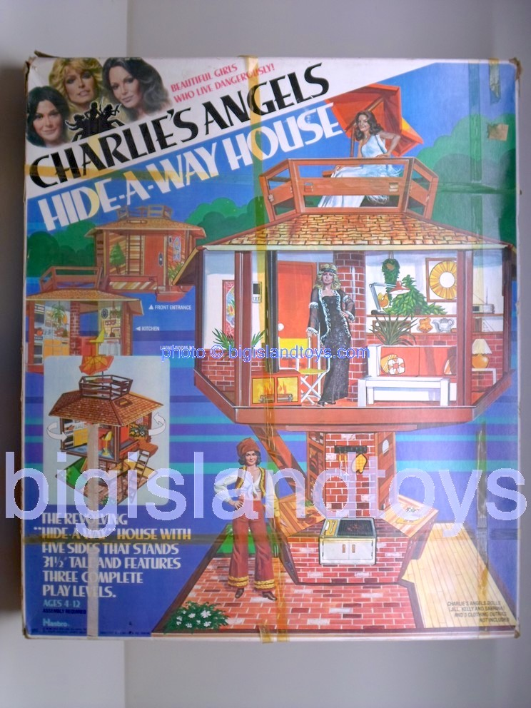 Charlies Angels    HIDE-A-WAY HOUSE Playset
