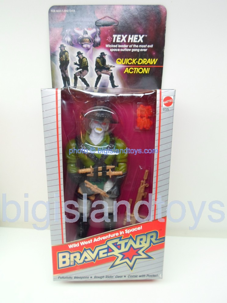 Bravestarr    Quick Draw Tex Hex