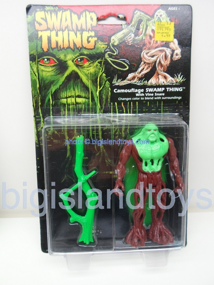 Swamp Thing    CAMOUFLAGE SWAMP THING with Vine Snare
