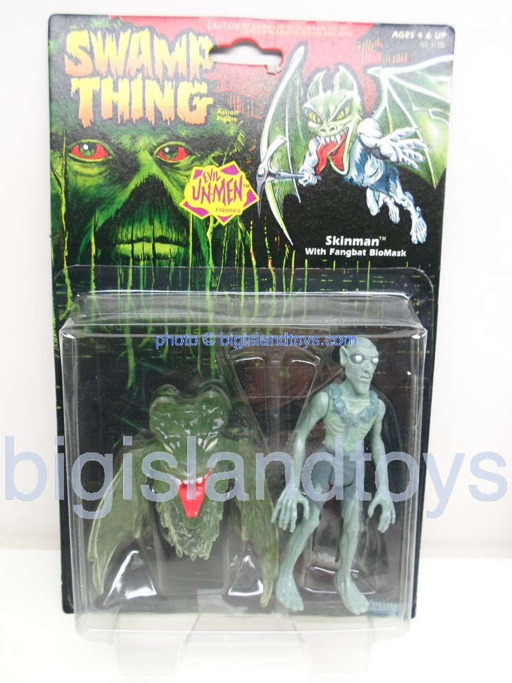 Swamp Thing    Evil UnMen SKINMAN with Fangbat BioMask