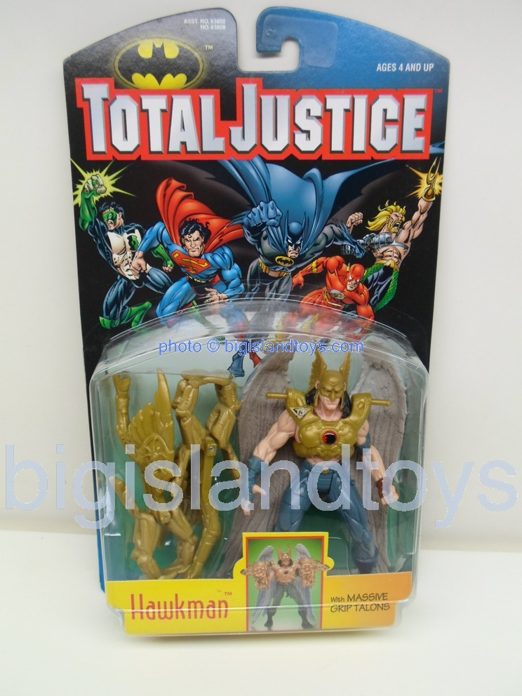 Total Justice    HAWKMAN with massive grip talons
