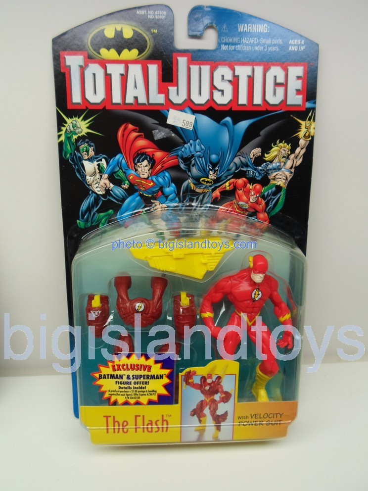 Total Justice    THE FLASH with Velocity Power Suit