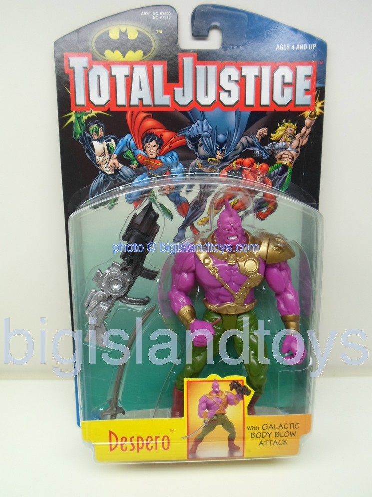 Total Justice    DESPERO with Galactic Body Blow Attack