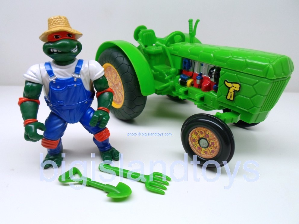Teenage Mutant Ninja Turtles 1994 Figures       FARMER MIKE