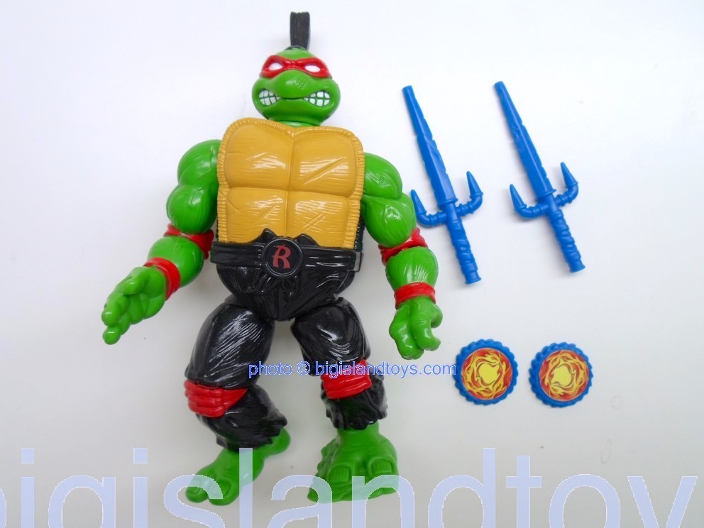 Teenage Mutant Ninja Turtles 1994 Figures   Kung Fu Raph