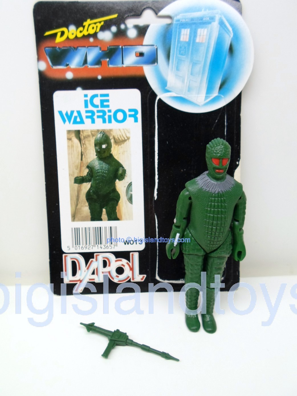 Dr Who    Ice Warrior