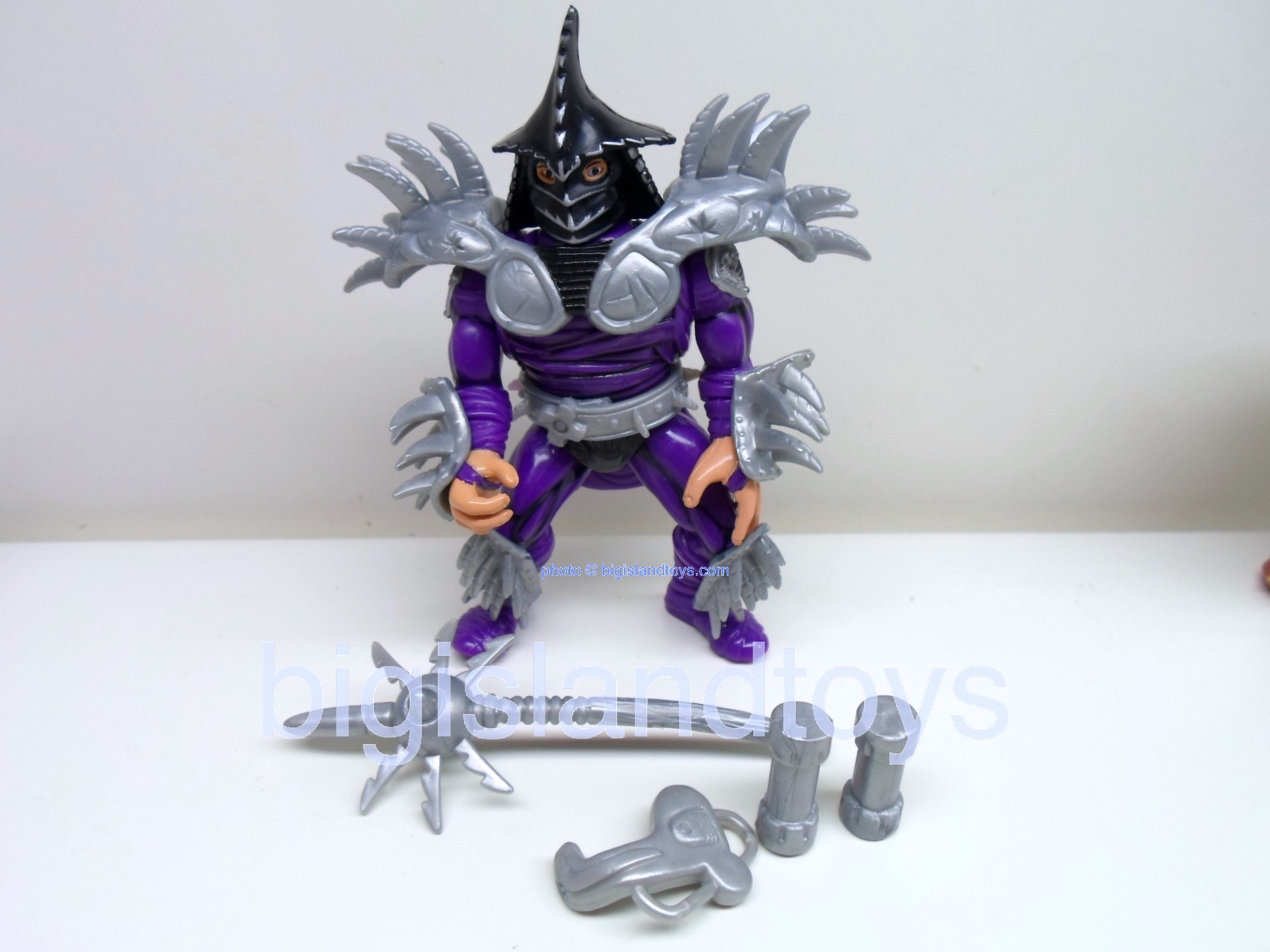 Teenage Mutant Ninja Turtles 1991 Figures   Movie Star Super Shredder