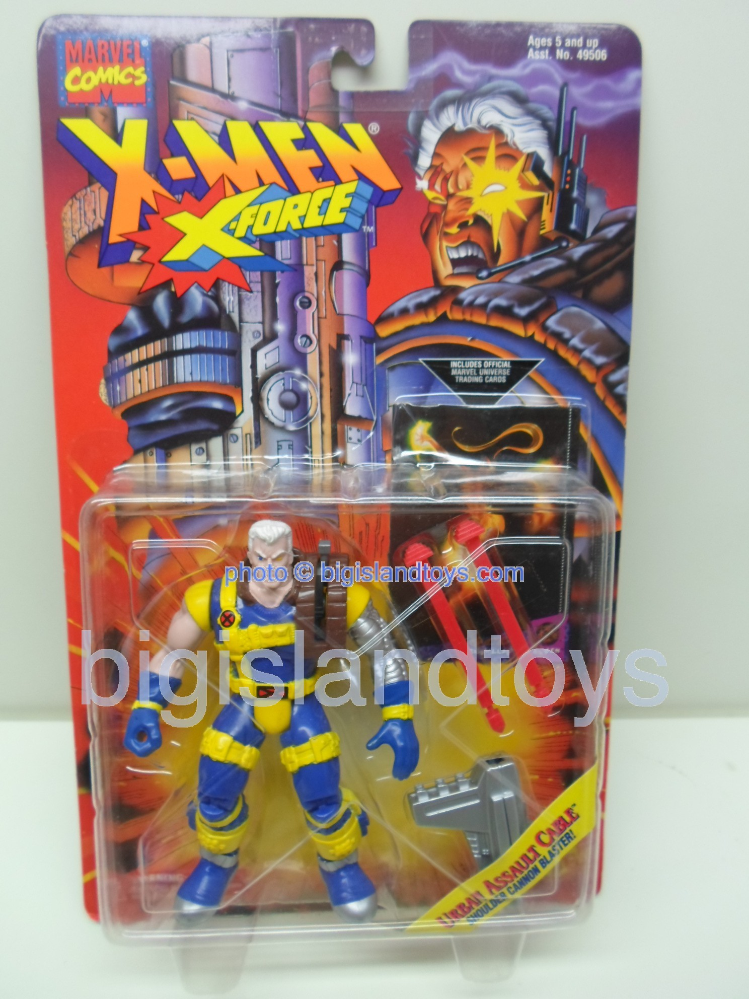 X-Men X-Force Series 5  Cable Urban Assault