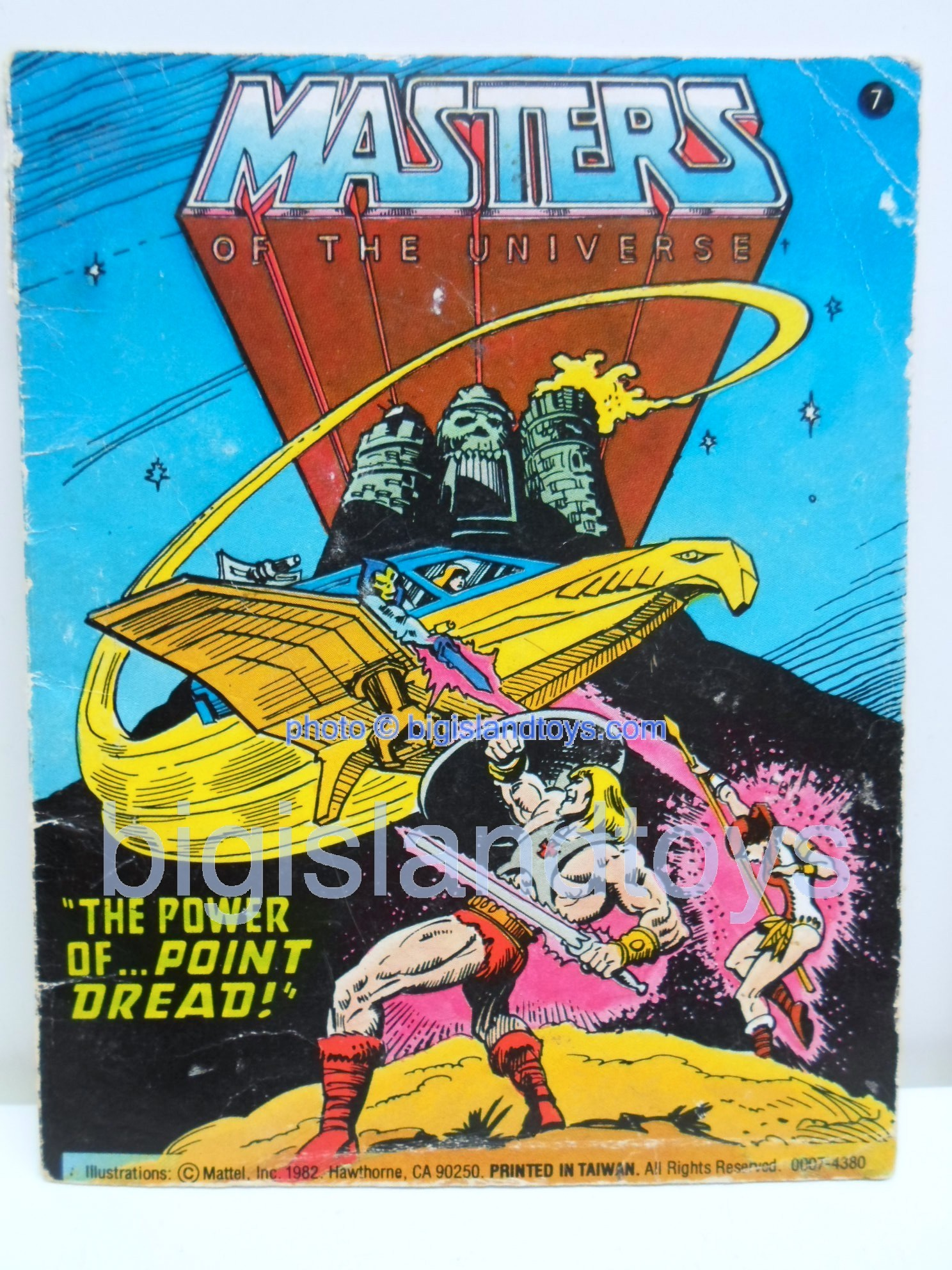 Masters of the Universe Mini Comics   The Power of... Point Dread!