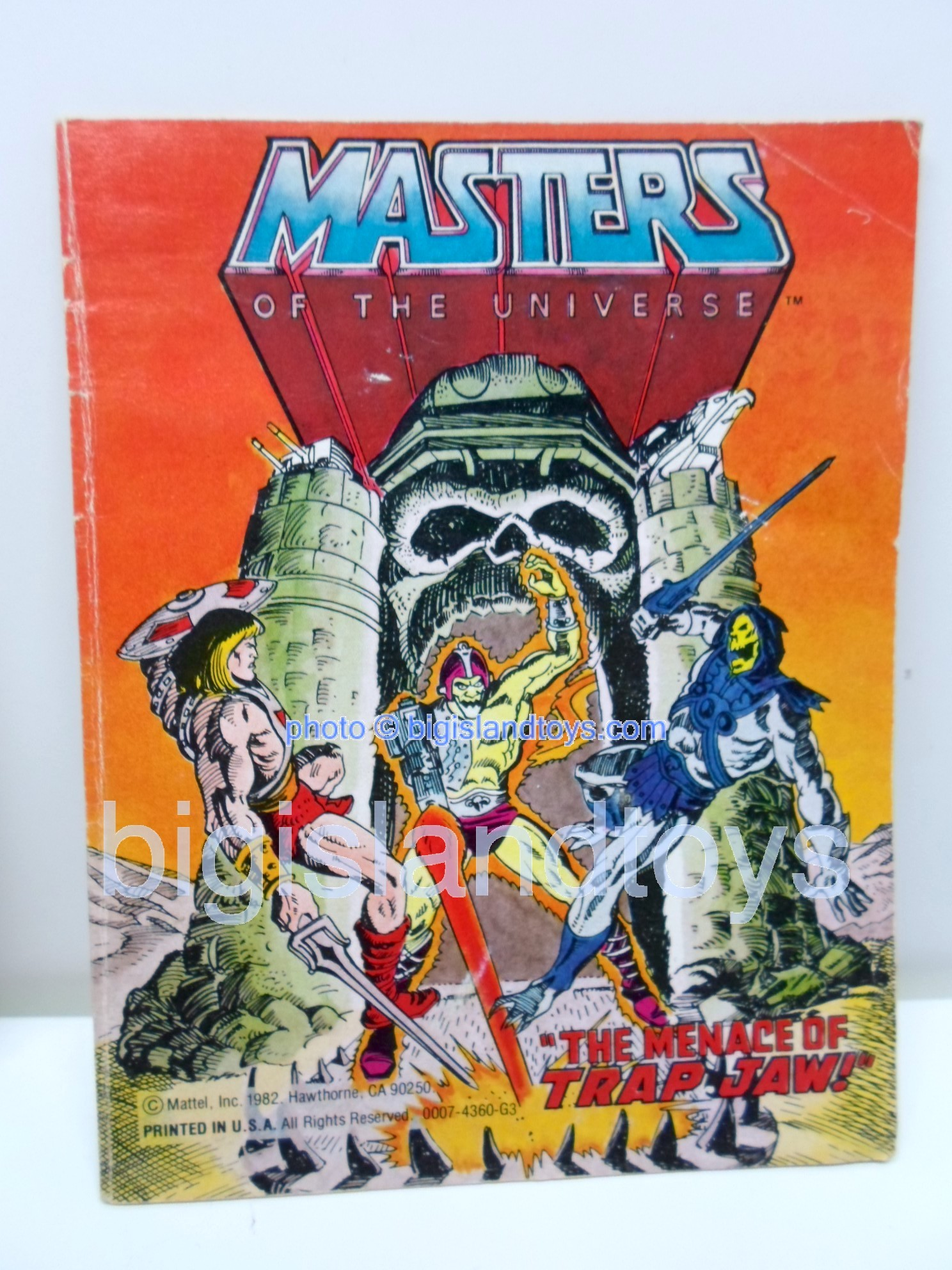 Masters of the Universe Mini Comics   The Menace of Trap Jaw!