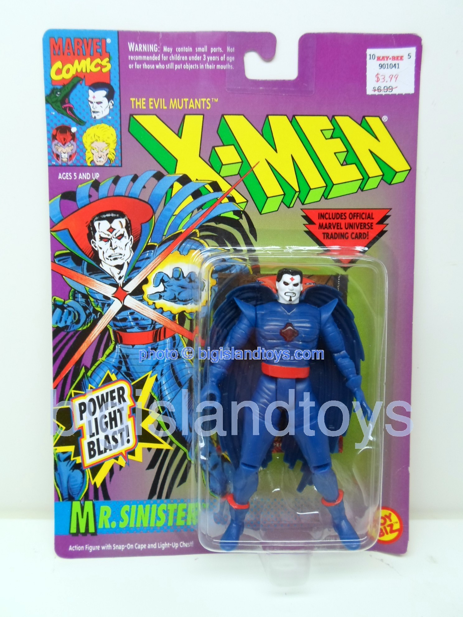 X-Men Uncanny Series 2  Mr. Sinister Black Cape