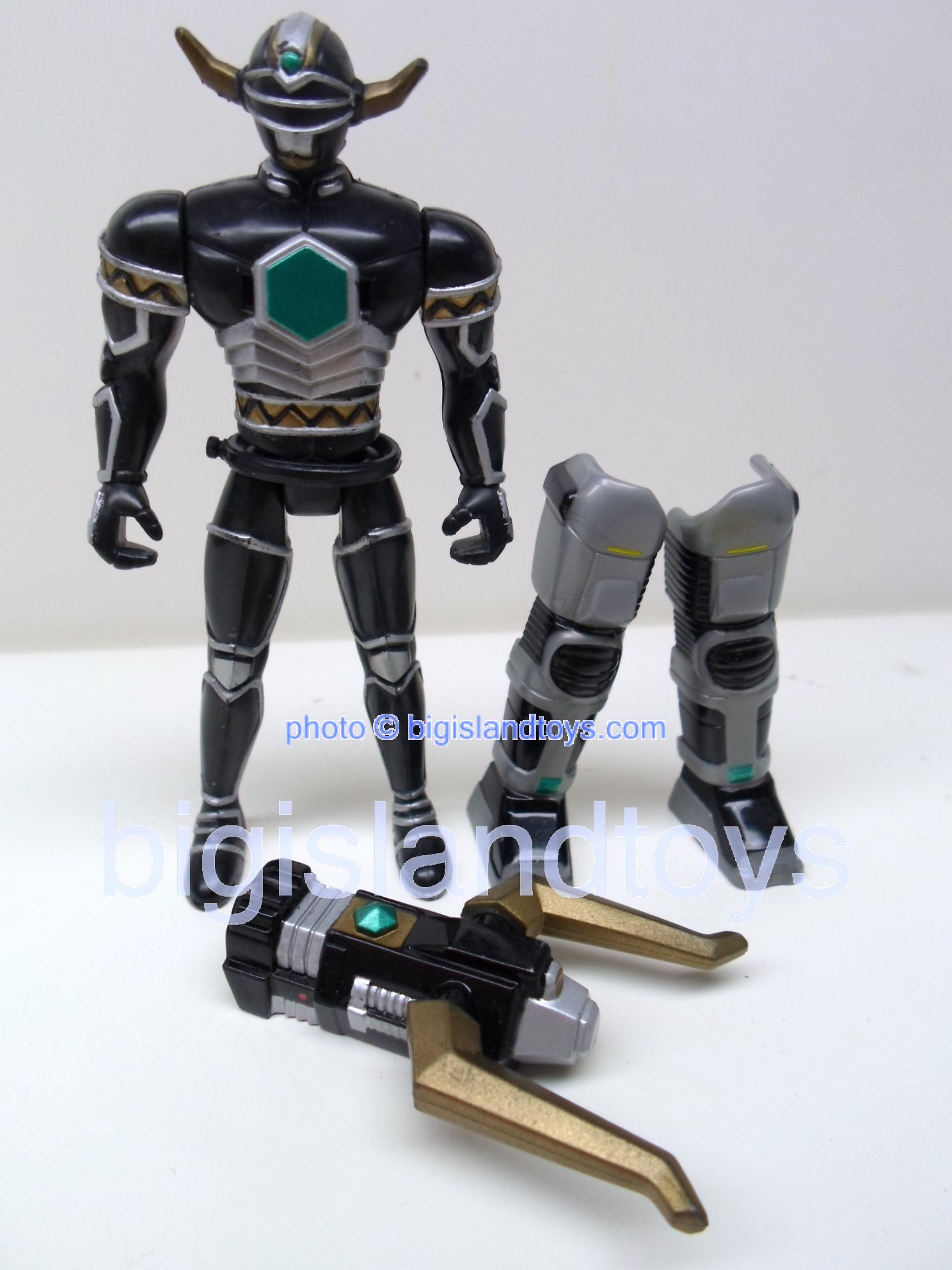 Power Rangers Lost Galaxy Action Figures  Explorer Magna Defender