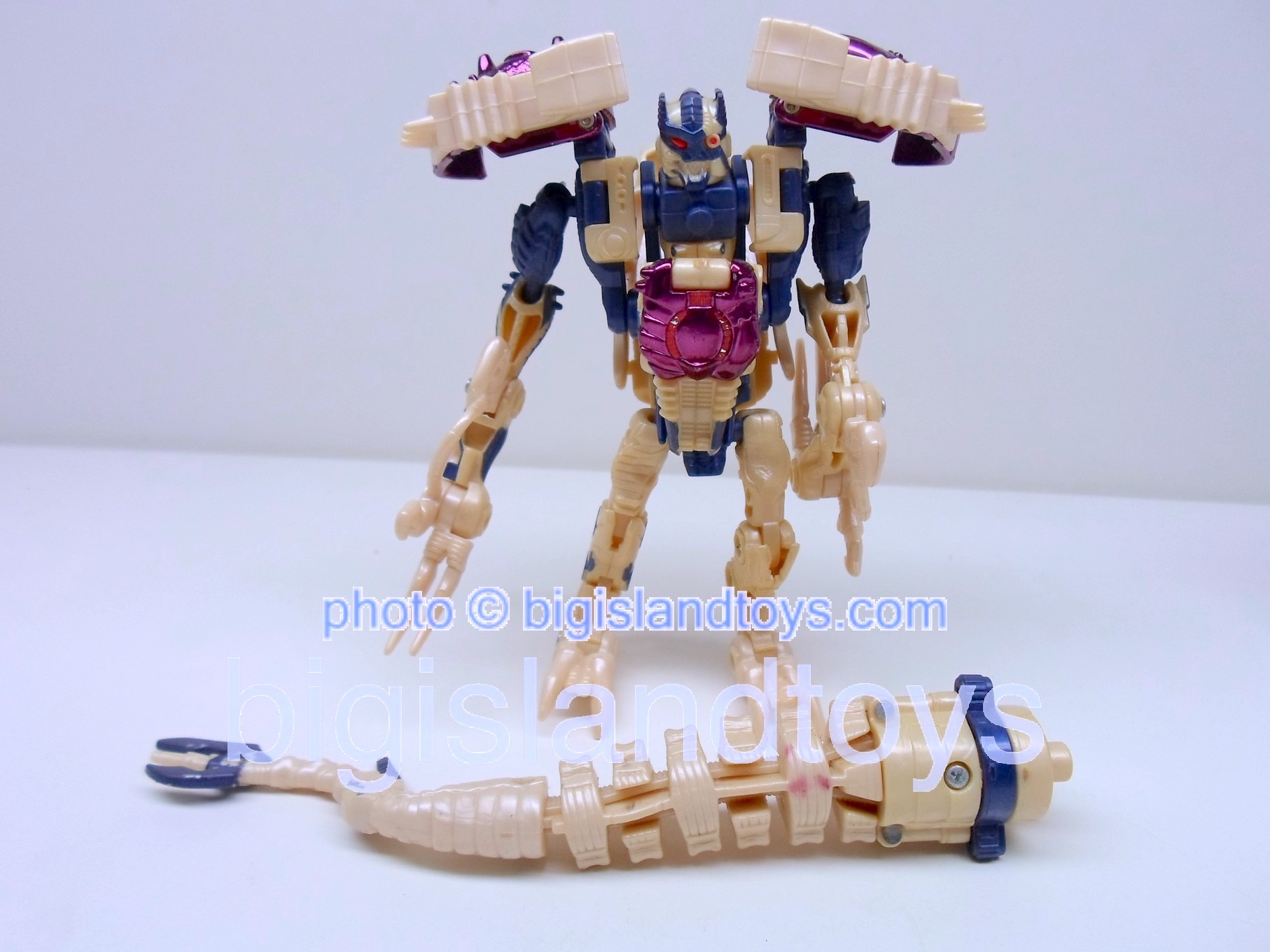 Transformers Beast Wars 1999  DinobotCream color