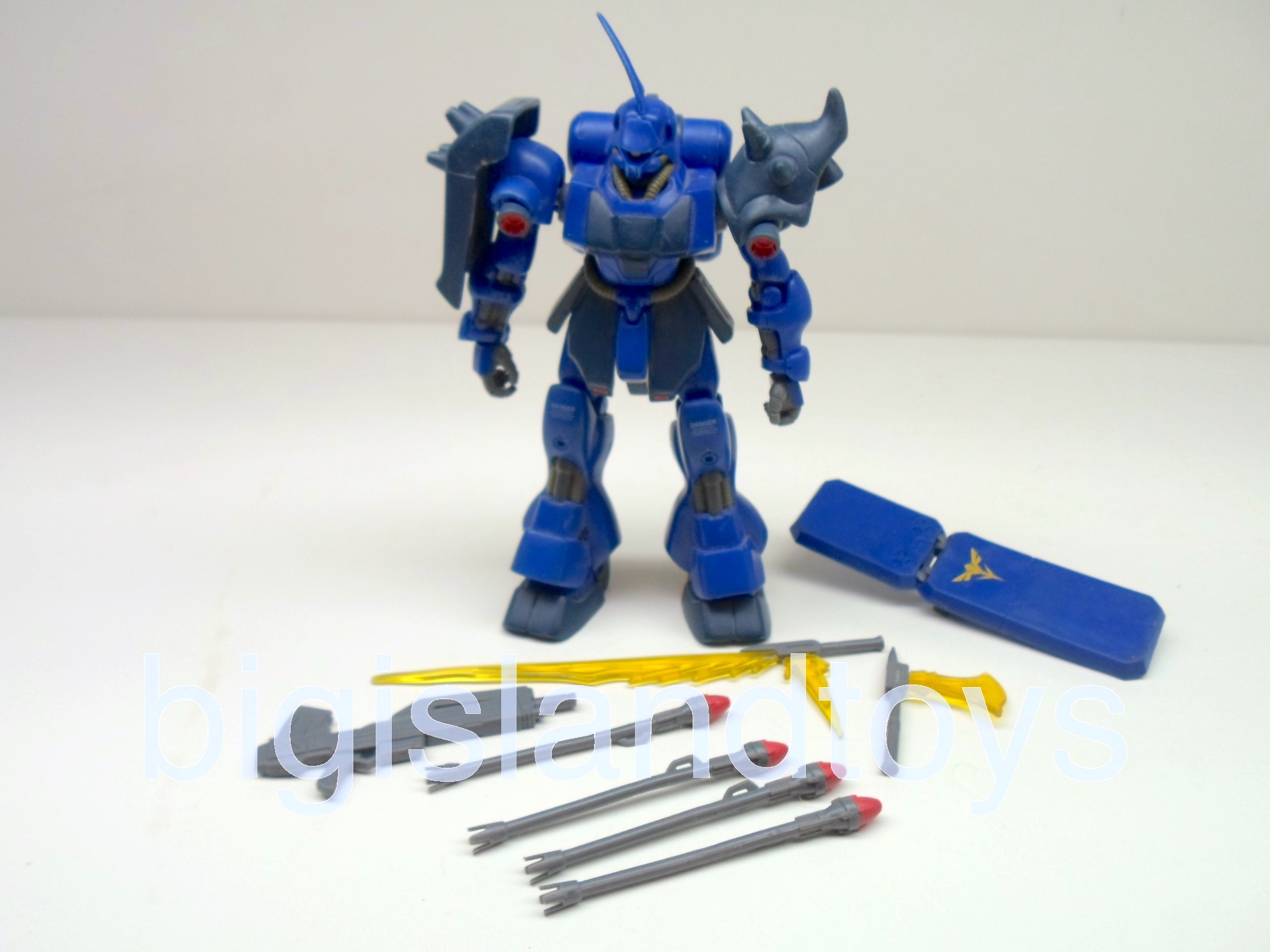 Gundam Chars Counter Attack   AMS-119 Geara Doga  Dark Blue