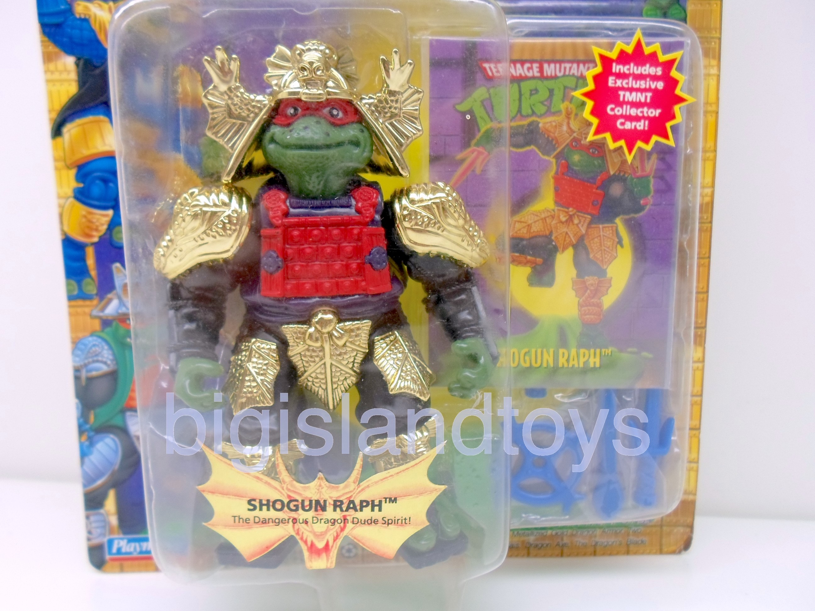 Teenage Mutant Ninja Turtles 1994 Figures   SHOGUN RAPHAEL RaphGold Armor