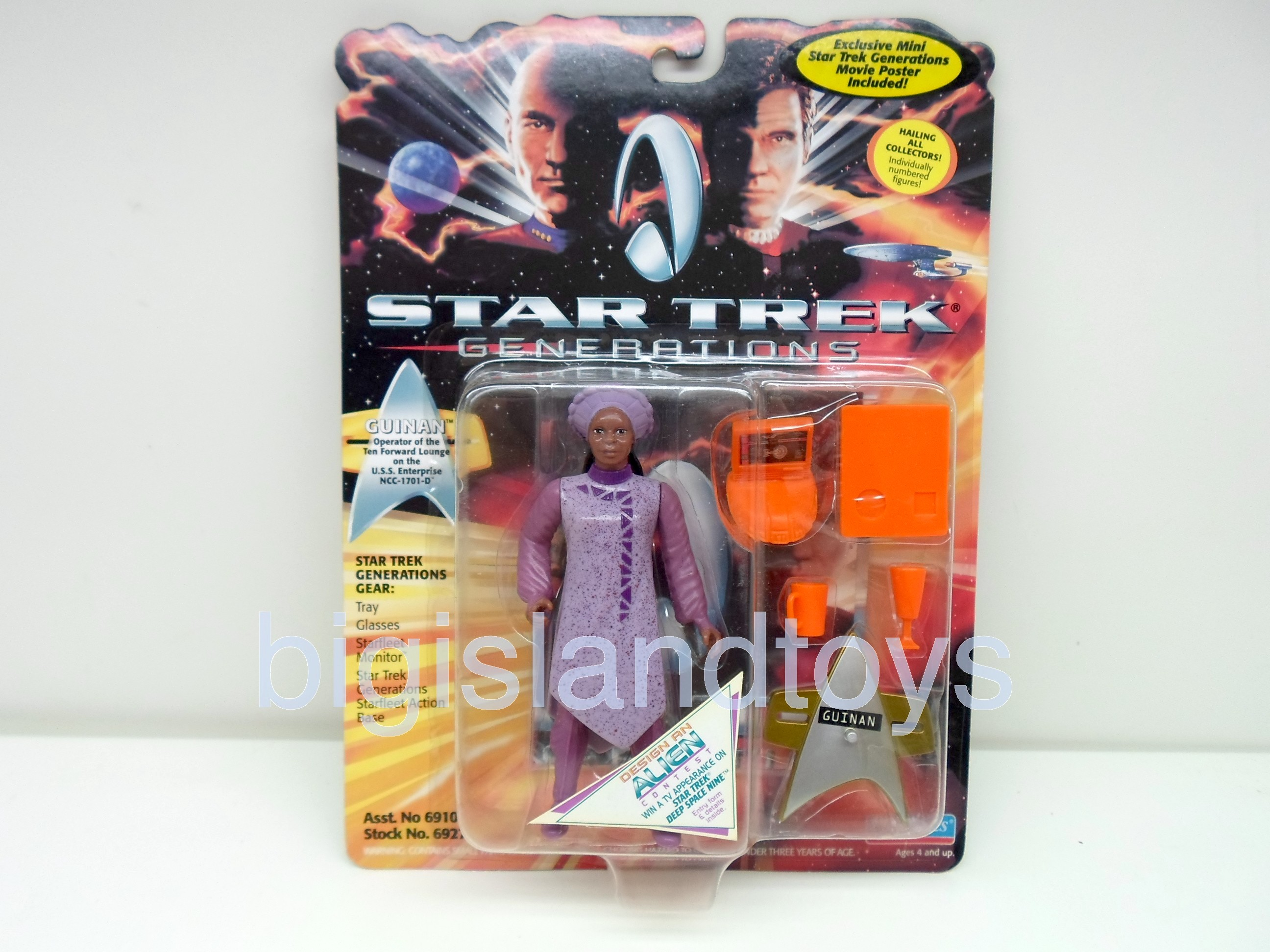 Star Trek  The Next Generation   Generations Guinan Purple Dress