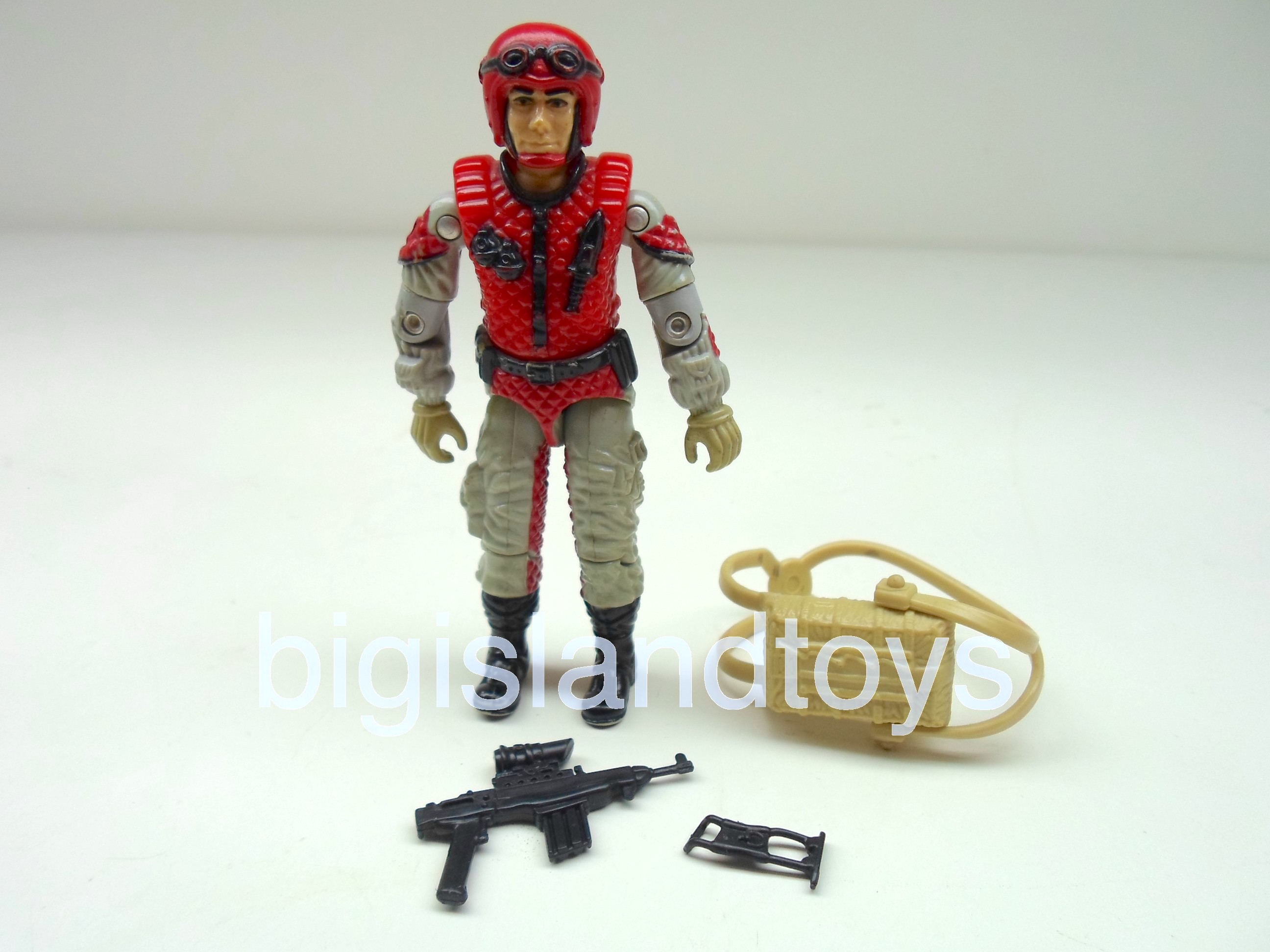 GI Joe 1987 Figures   Crazylegs