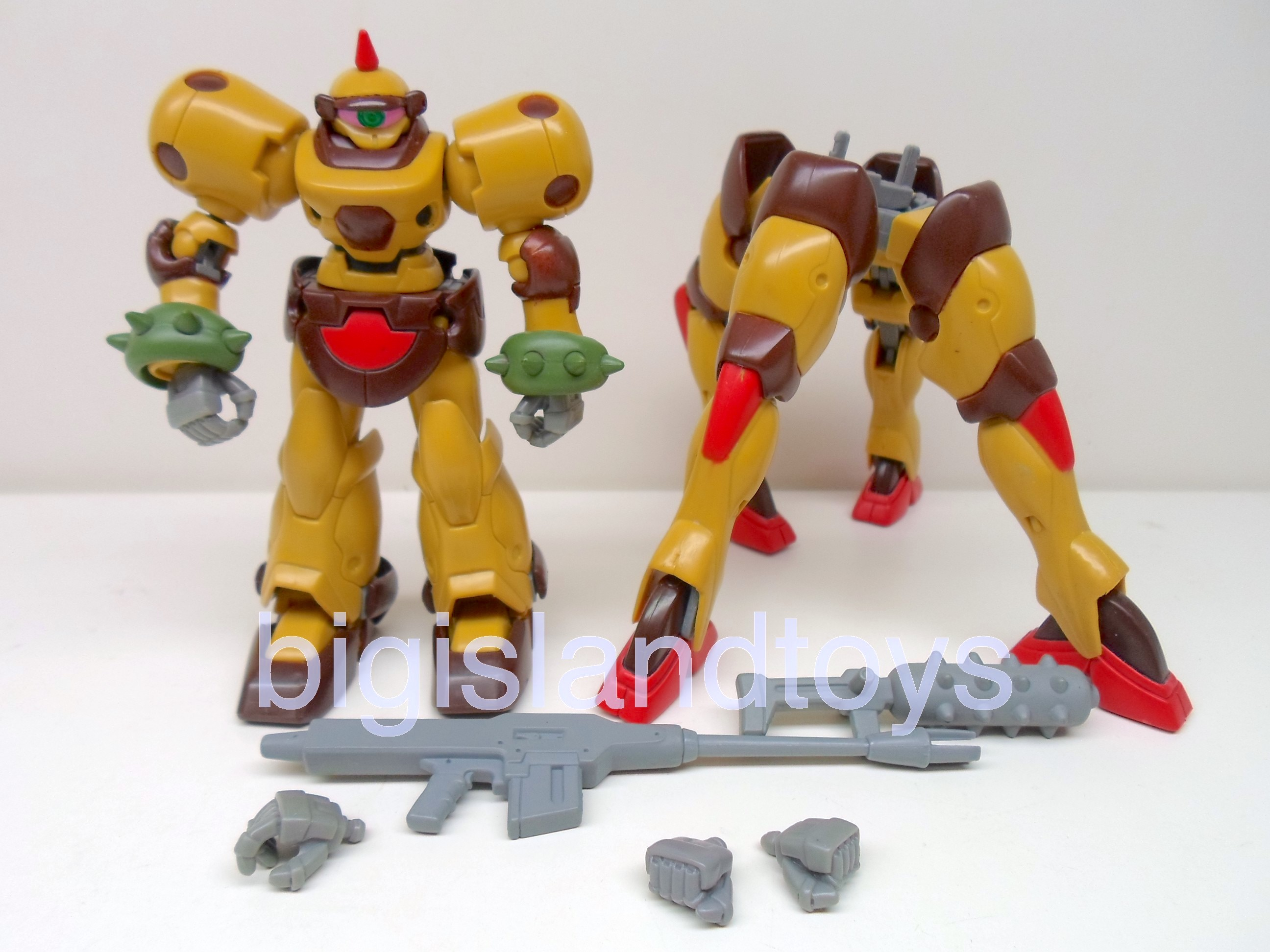 Gundam  Mobile Suit   G Dark Army Complete