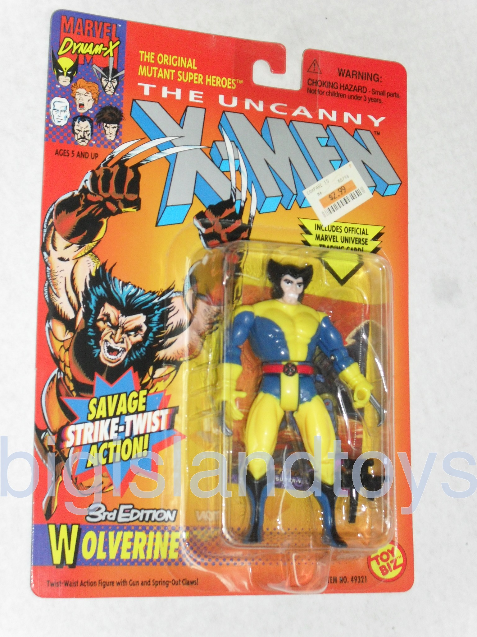 X-Men Uncanny Series 2  Wolverine 3rd EditionYellow Pants