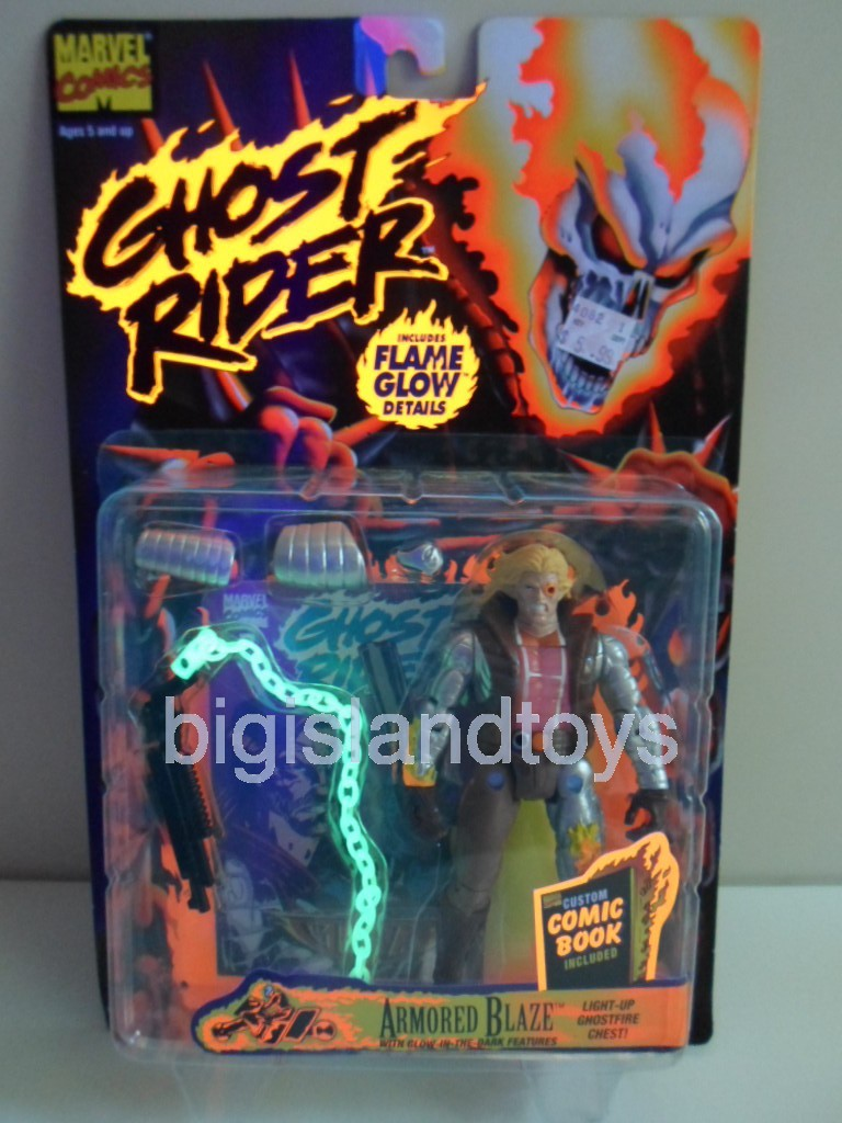 Ghost Rider Series 2   Armored Blaze
