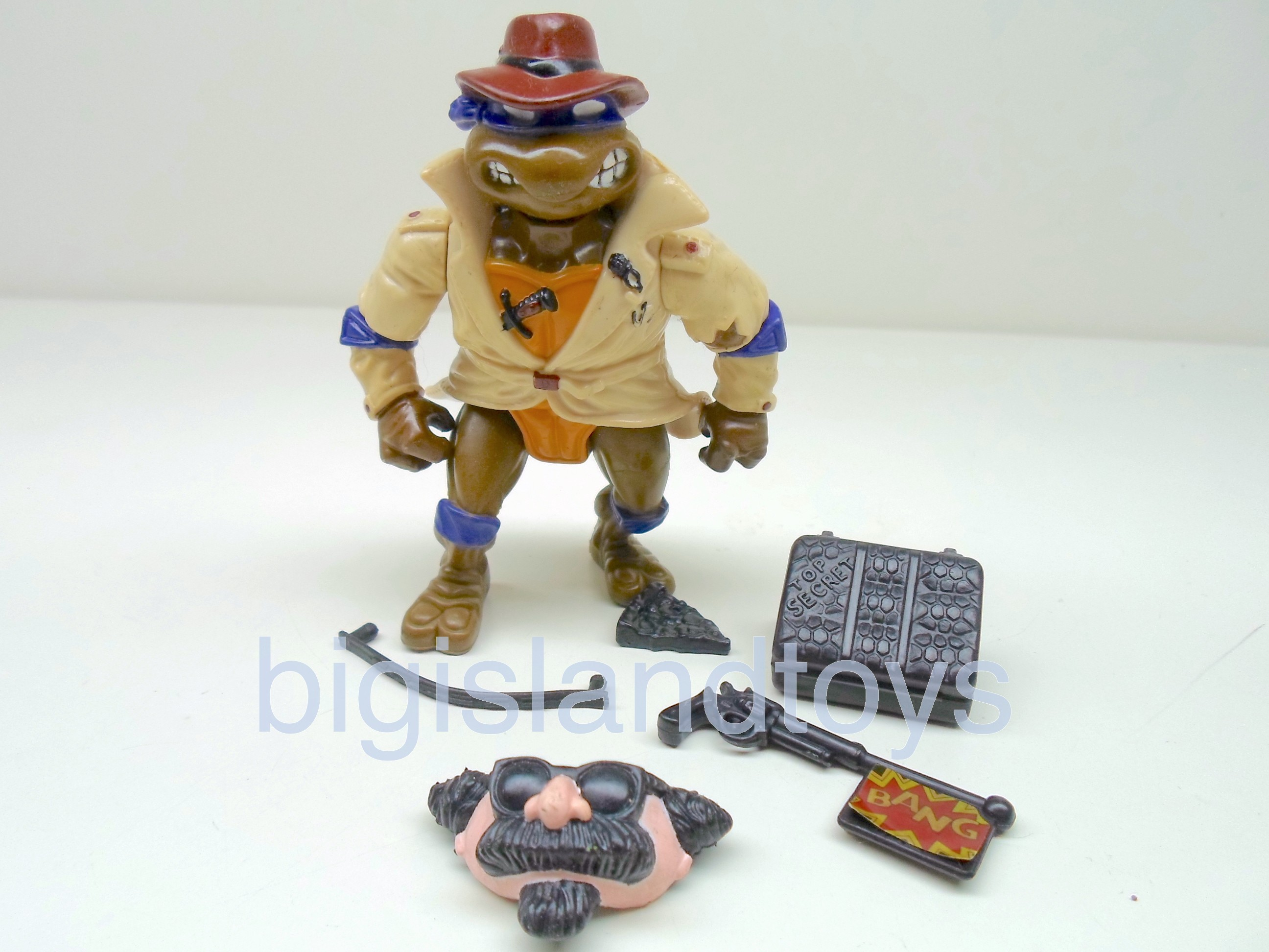 Teenage Mutant Ninja Turtles 1991 Figures   Don The Undercover Turtle