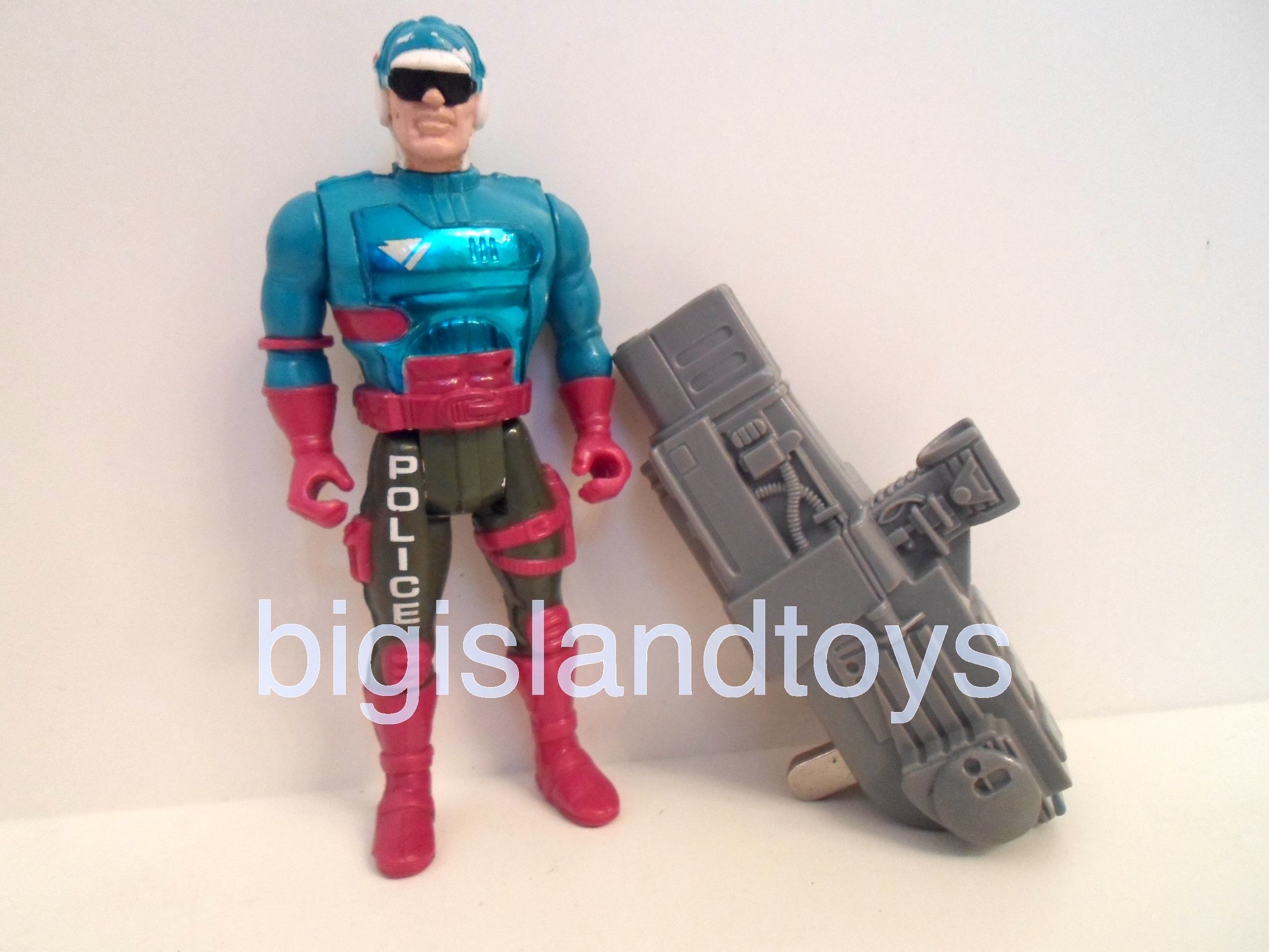 Robocop and the Ultra Police   Torpedo Thompson
