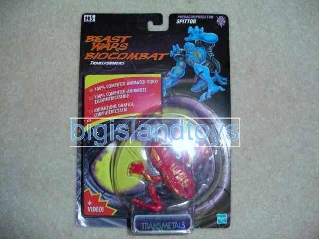 Transformers Beast Wars 1998  Spittor with videoEurope Ex