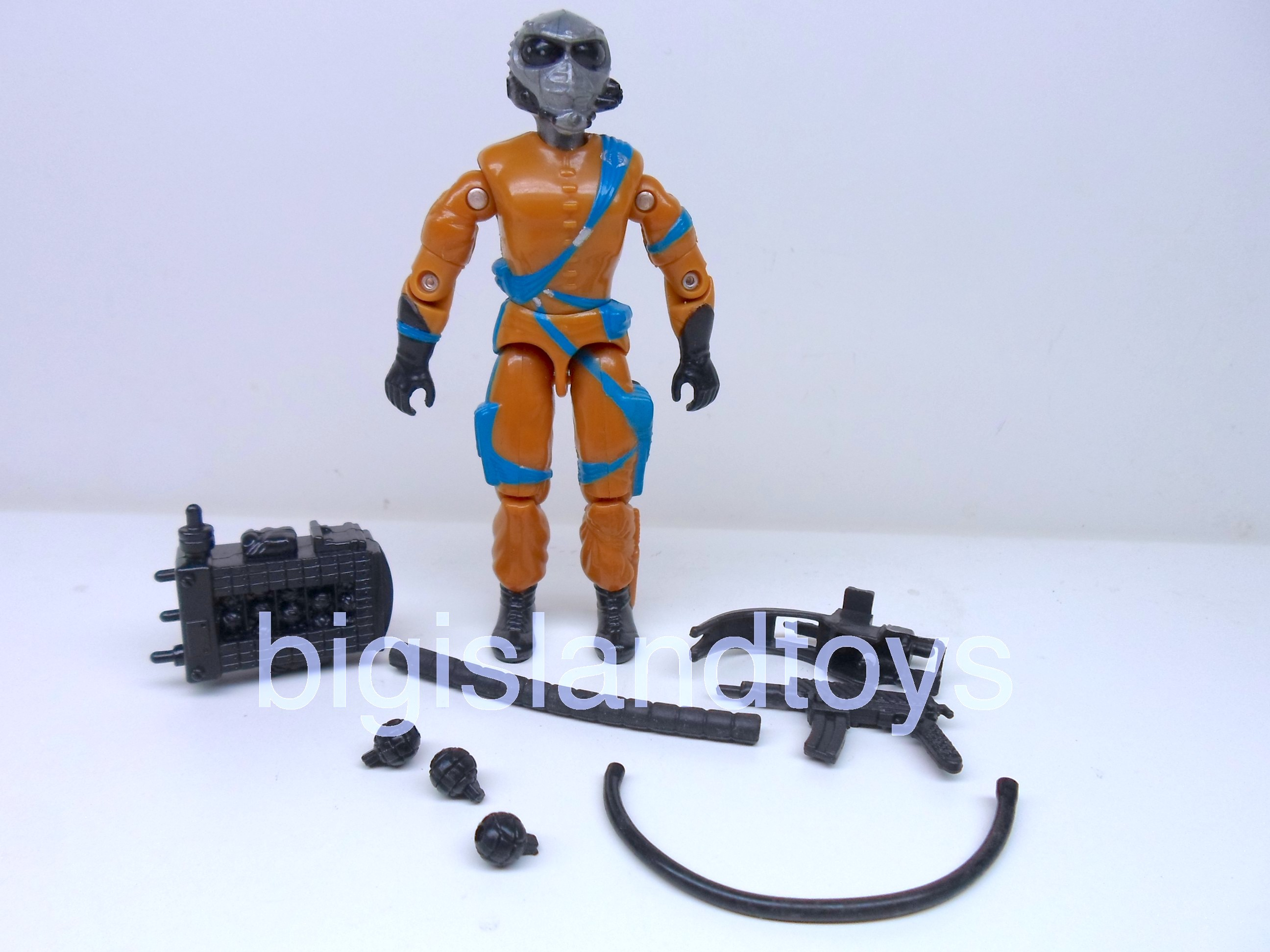 GI Joe 1989 Figures   Frag Viper