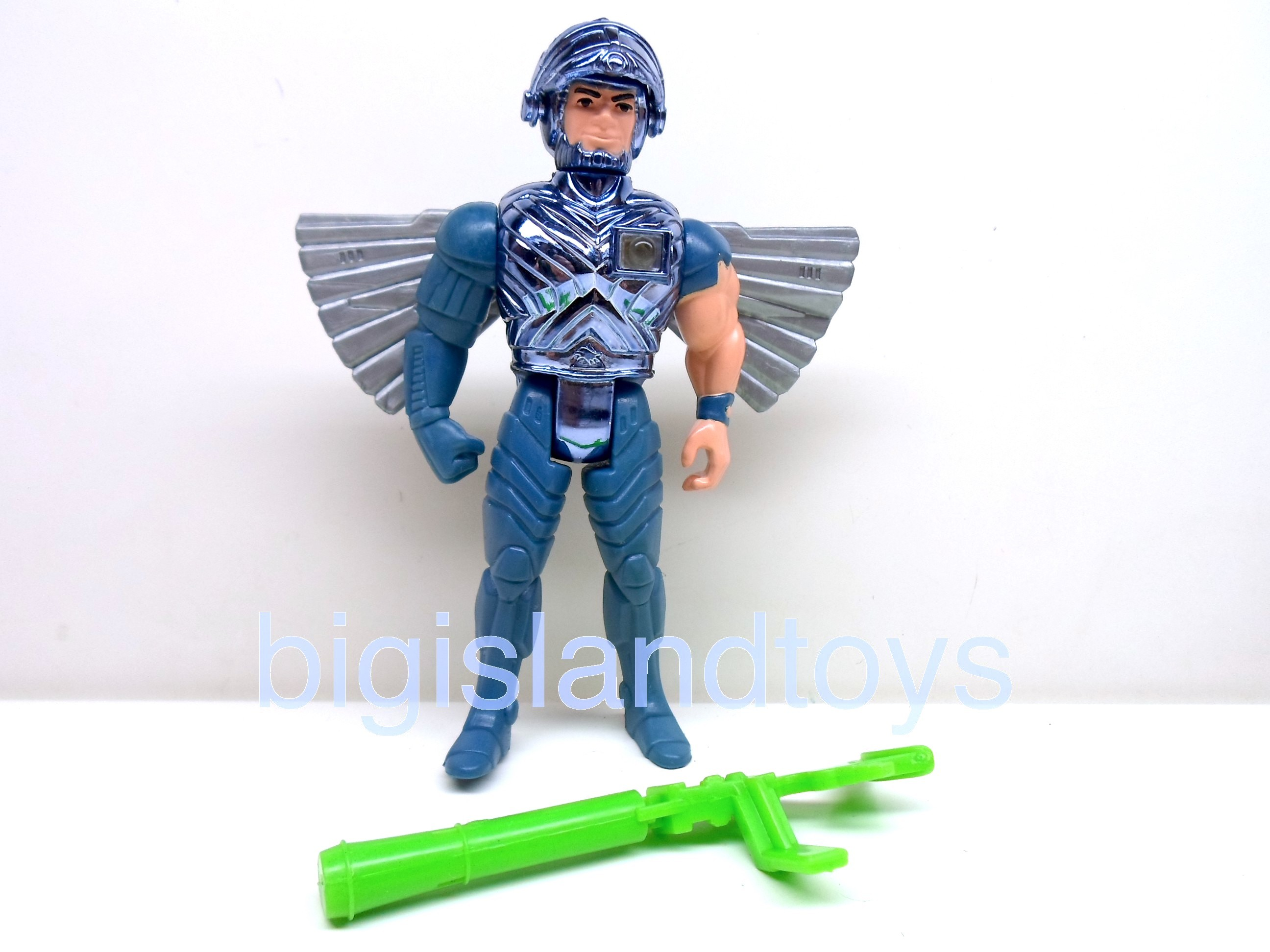 Silver Hawks    Steelwill with Ultrasonic Suit