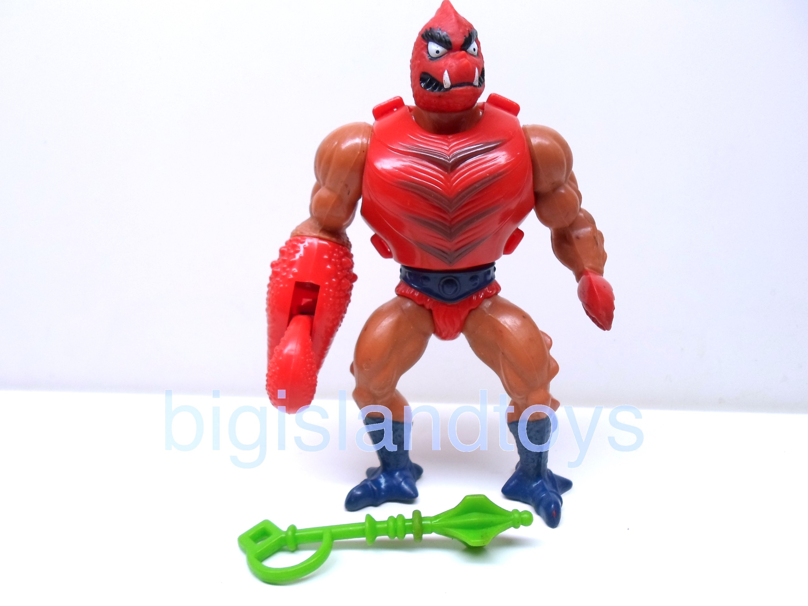 Masters of the Universe Series 3 1984   ClawfulBumpy Legs