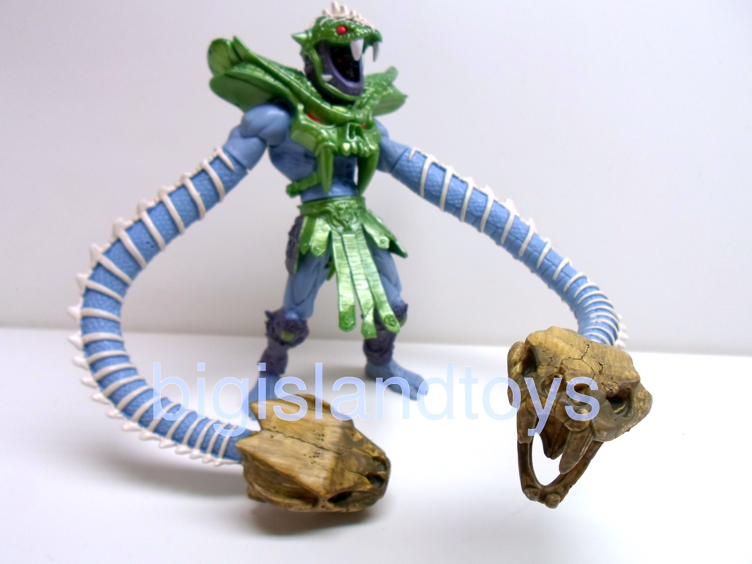 Masters of the Universe  200X   Snake Crush Skeletor