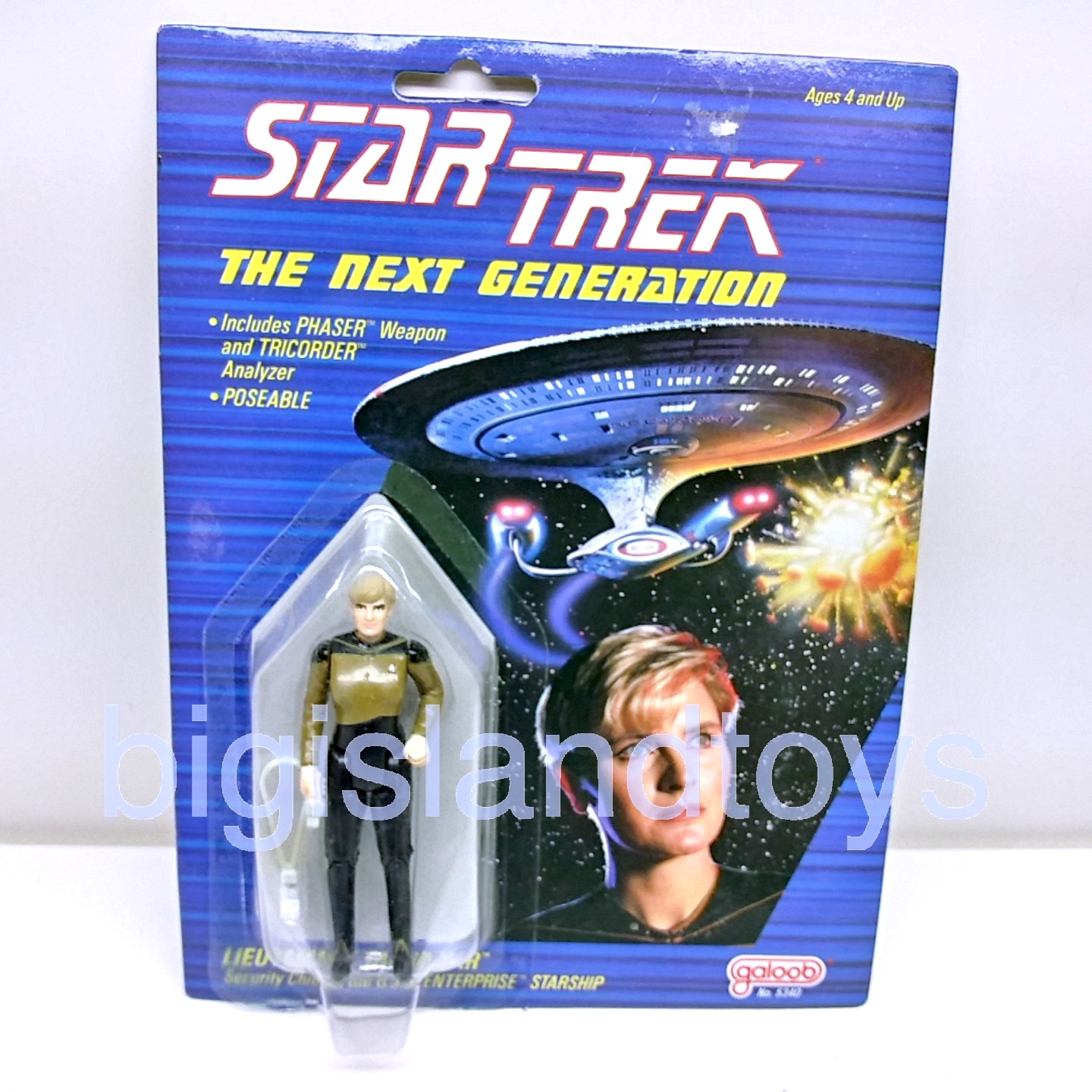 Star Trek  The Next Generation Galoob  Lieutenant Natasha Yar
