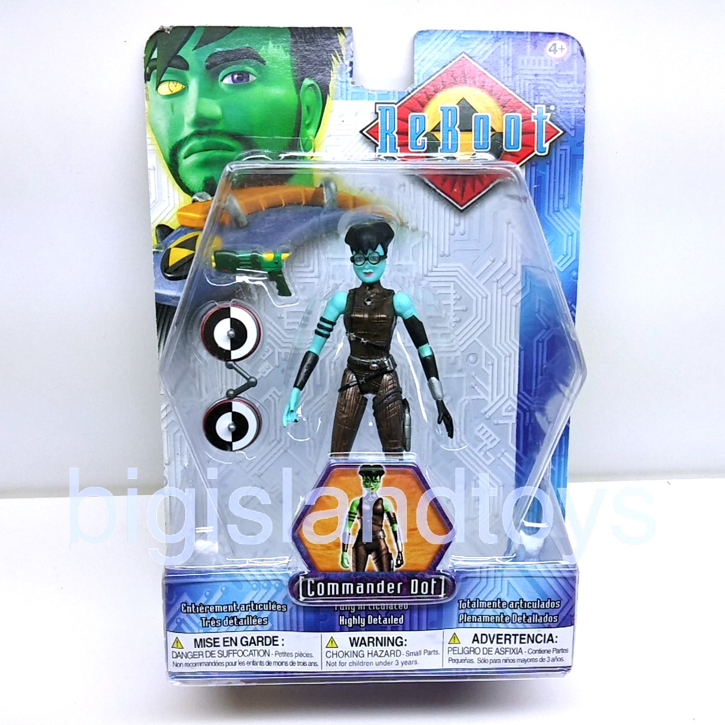 Reboot Series 3   Commander Dot