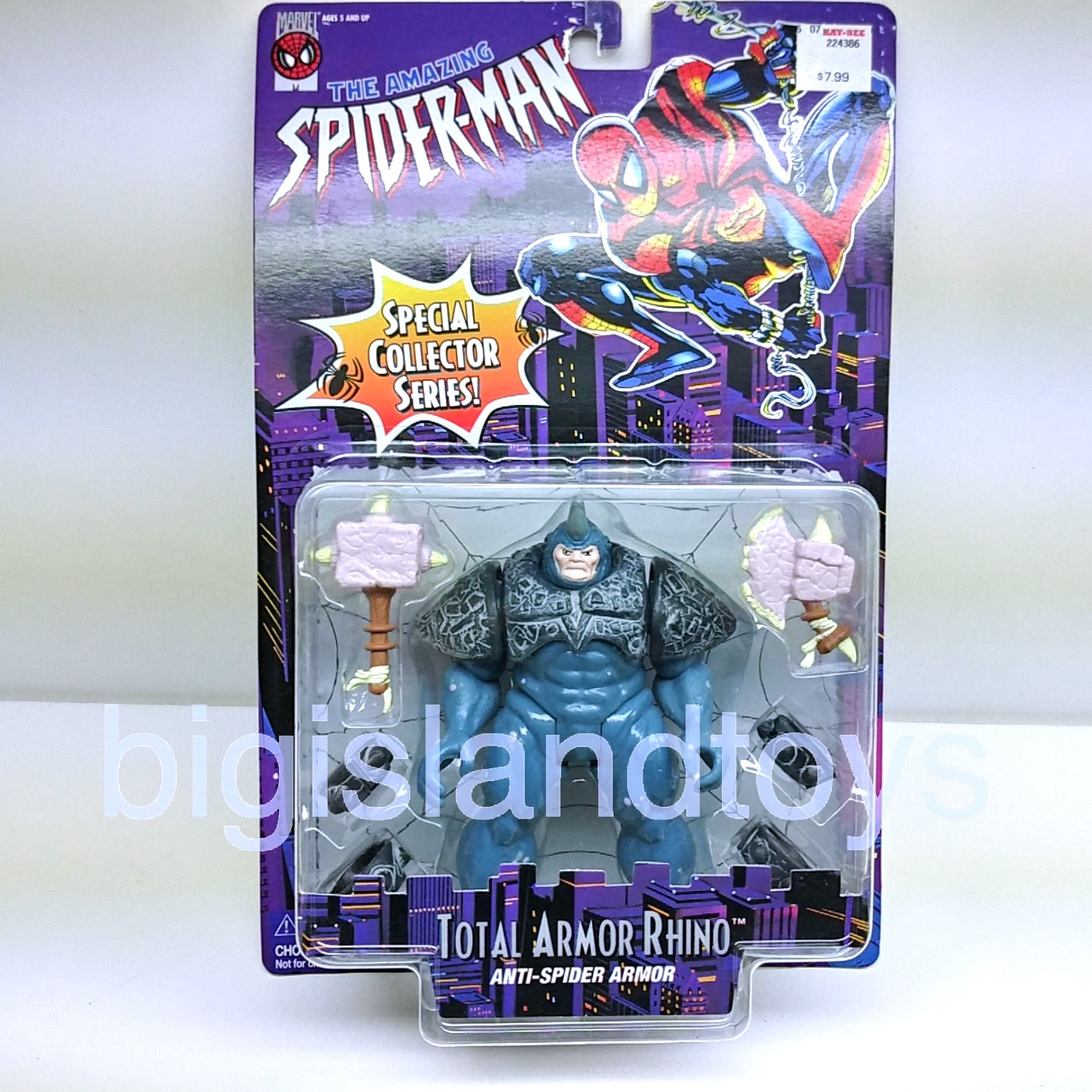 Spider-Man  Animated Series   Total Armor Rhino