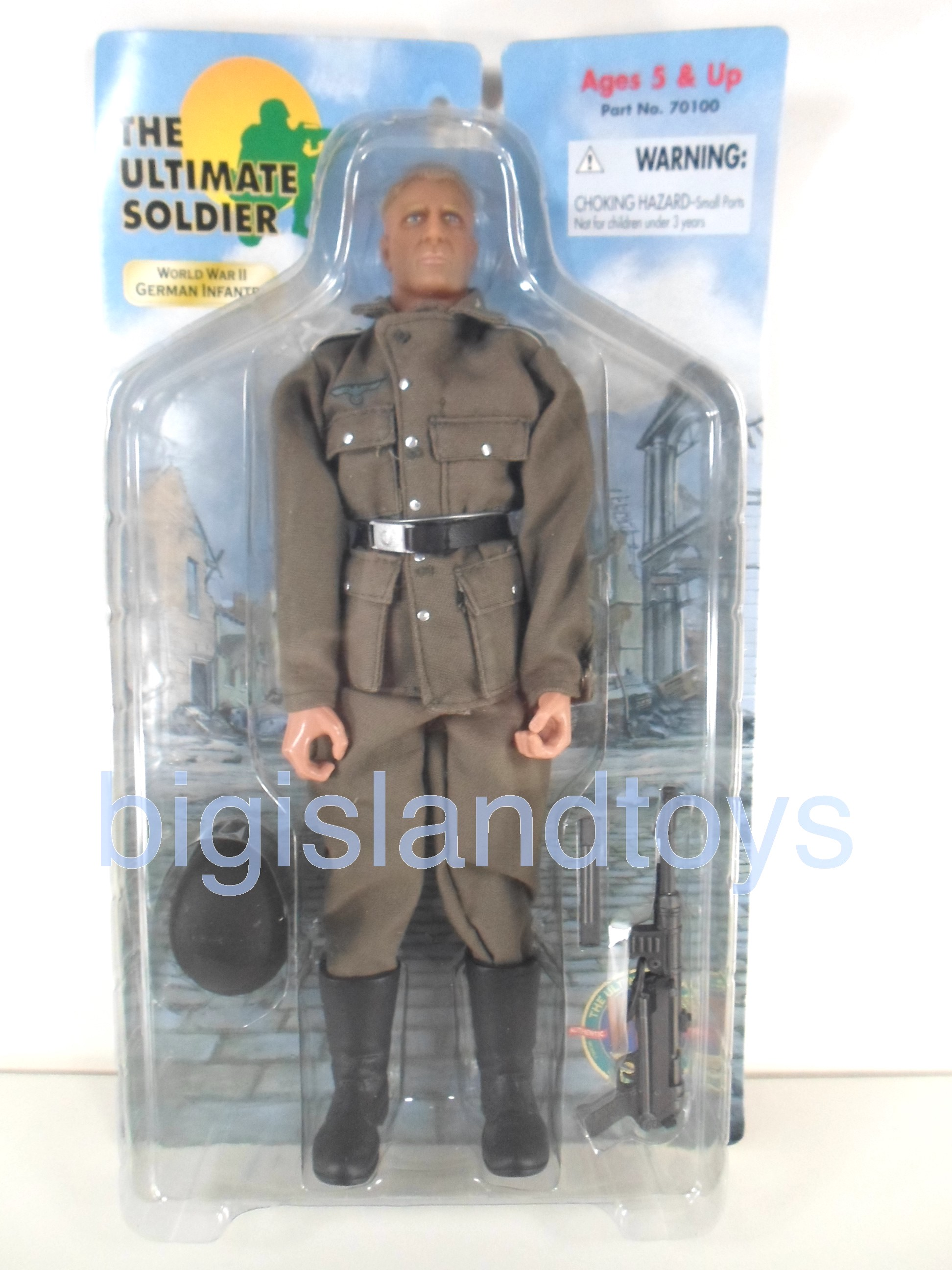 The Ultimate Soldier     German Infantry