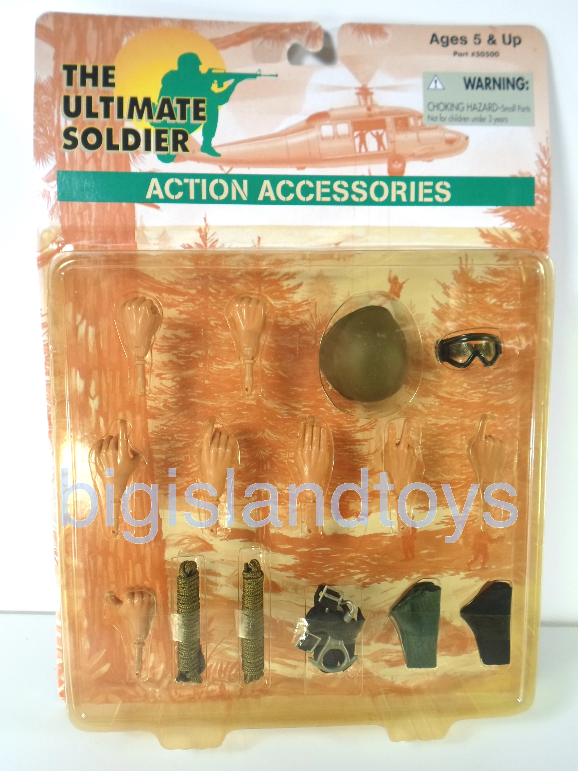 The Ultimate Soldier     Action Accessories